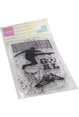 Marianne Design Marianne D Clear Stamps Art stamps - Voetbal MM1645 70x140mm