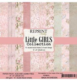 """Reprint Reprint Little Girls Collection   8""""x 8"""" (20.3 x 20.3cm) RPM05"""