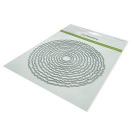 Craft Emotions CraftEmotions Big Nesting Die - deckle cirkels Card 150x160 - 13,2cm