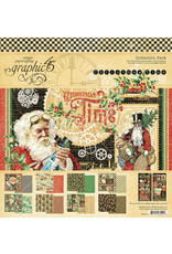 Graphic 45 Graphic 45  Christmas Time  collection pack 12'x 12'