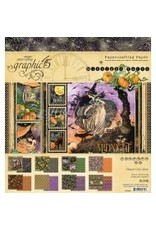 Graphic 45 Graphic 45  Midnight Tales  8'x 8' pad