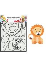 Dutch Doobadoo Dutch Doobadoo Dutch Card Art Built up Leeuw 470.713.881