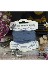Foamiran Old Fashion Ribbon Linnen Vintage blue OLDL 29