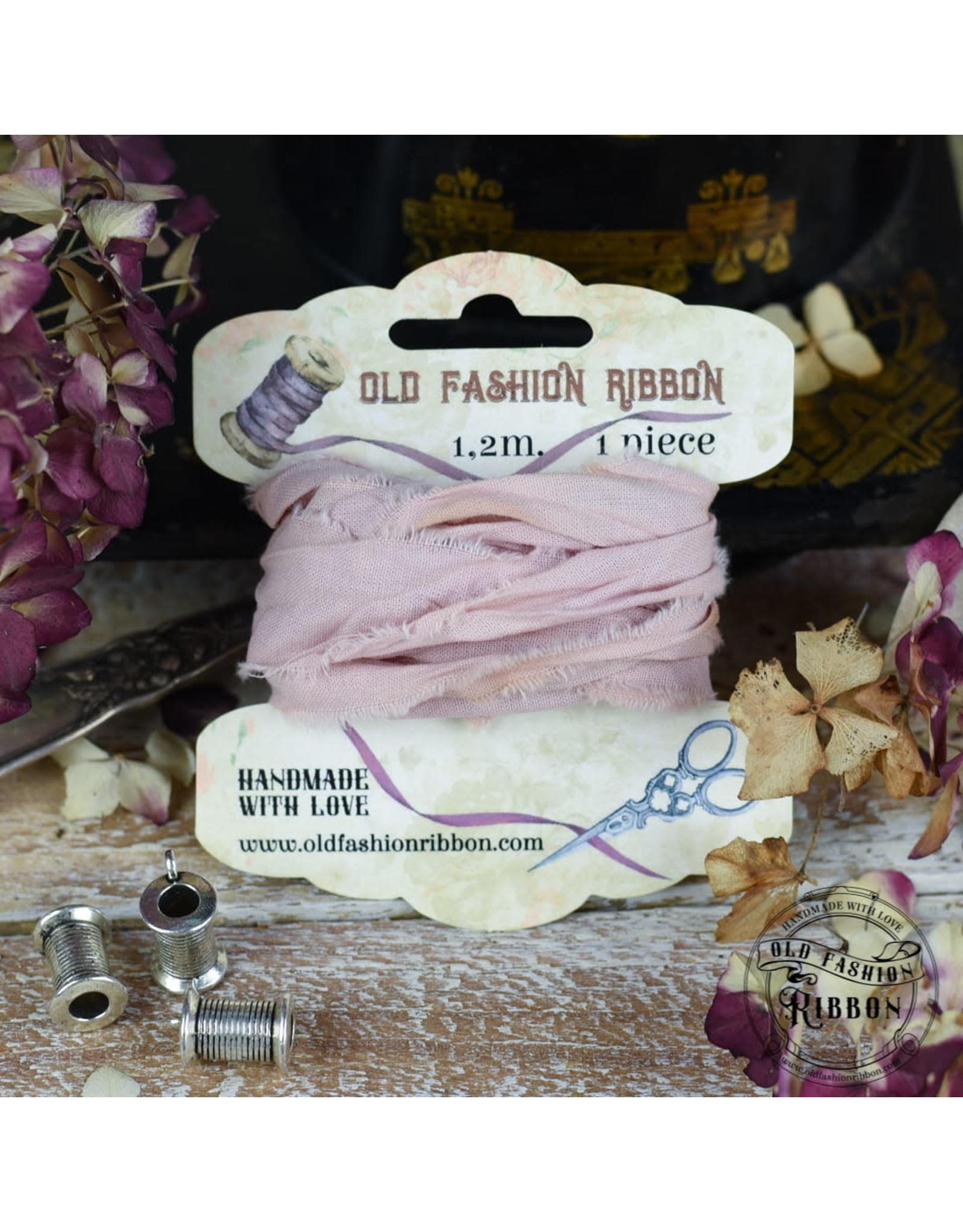 Foamiran Old Fashion Ribbon Linnen Vintage Dirty Pink OLDL25