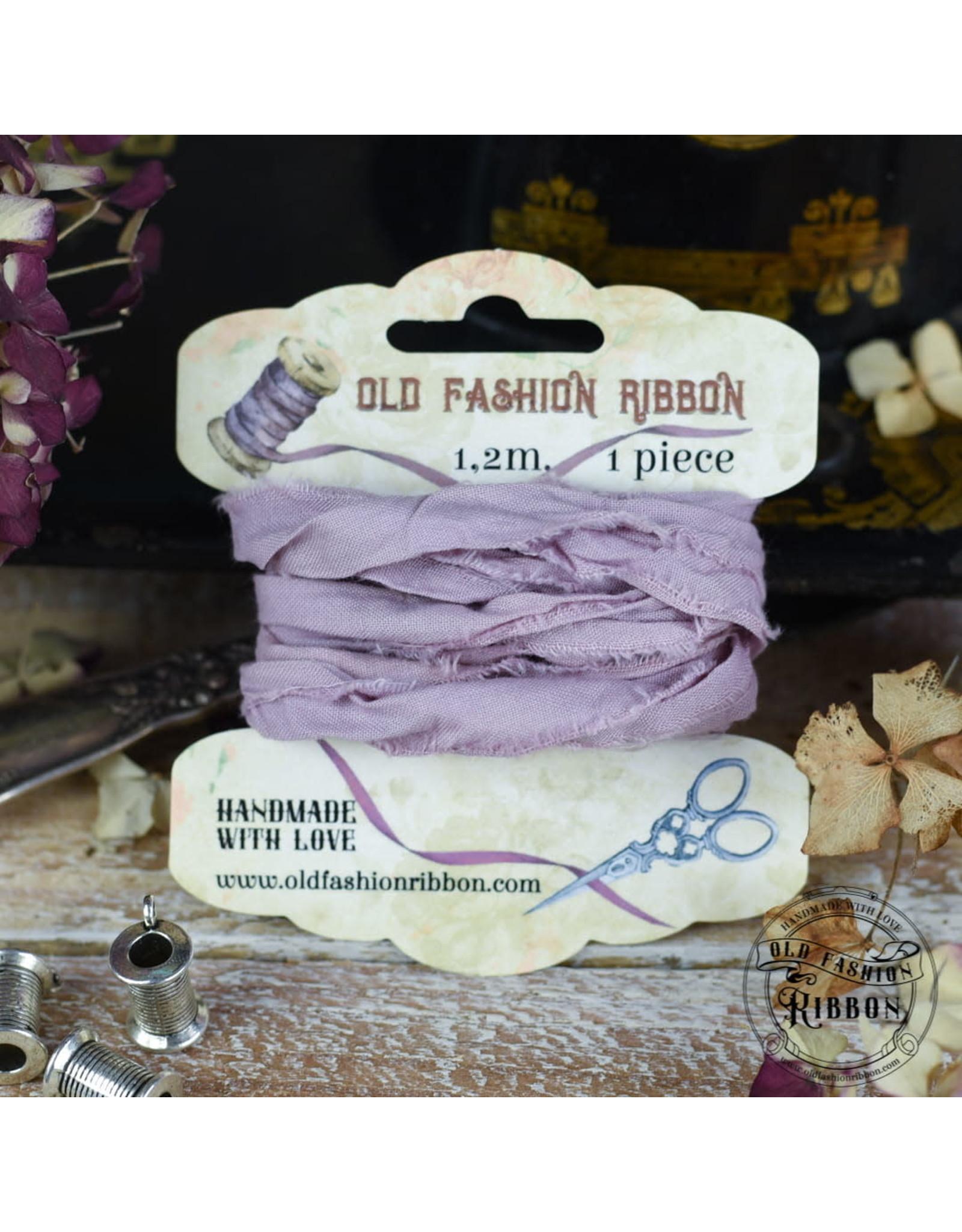 Old Fashion Ribbon Old Fashion Ribbon Linnen Vintage Dirty Lavender OLDL27