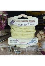 Old Fashion Ribbon Old Fashion Ribbon Linnen Vintage Geel OLDL34