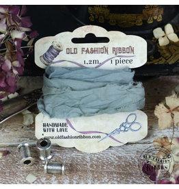 Old Fashion Ribbon Old Fashion Ribbon Linnen Vintage Dirty Sage OLDL32