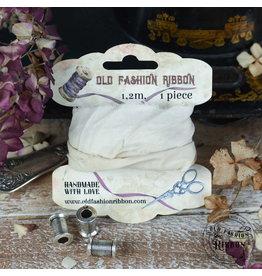 Old Fashion Ribbon Old Fashion Ribbon Linnen Vintage Ivory/ecru OLDL21