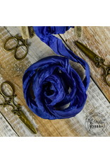 Old Fashion Ribbon Old Fashion Ribbon Satijn Cobalt OLDSB35