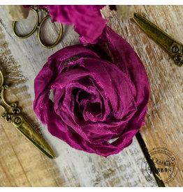 Old Fashion Ribbon Old Fashion Ribbon Satijn  Fuchsia OLDSB47