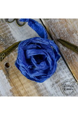 Old Fashion Ribbon Old Fashion Ribbon Satijn Blue OLDSB06