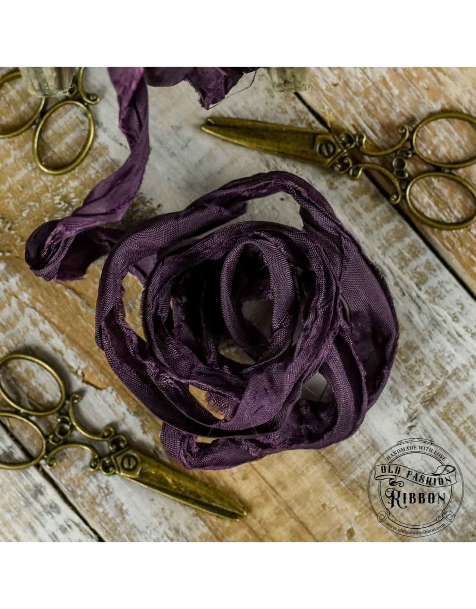 Old Fashion Ribbon Old Fashion Ribbon Satijn  Plum OLDSB34