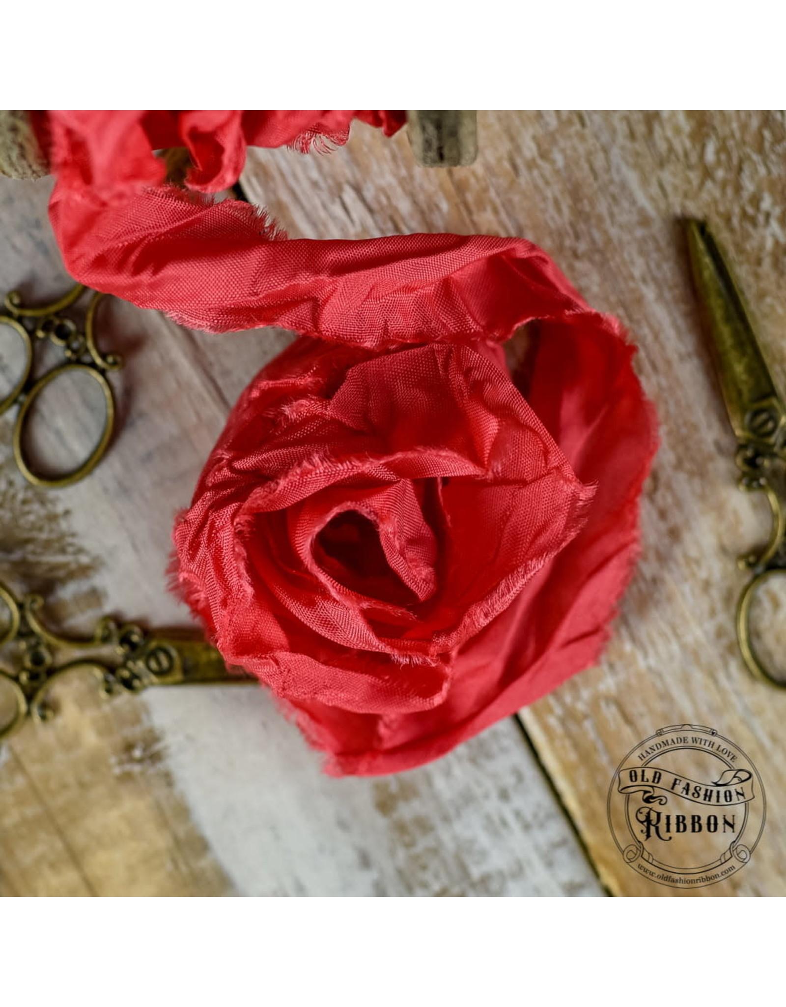 Old Fashion Ribbon Old Fashion Ribbon Satijn Raspberry OLDSB15