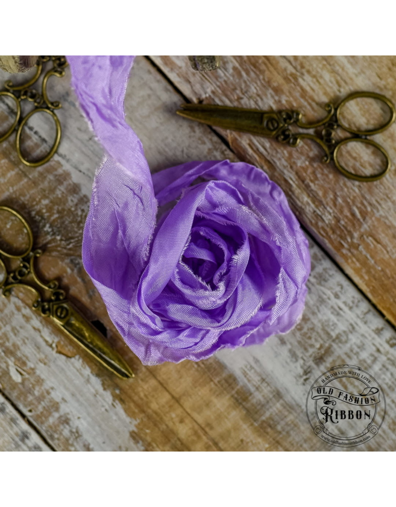 Old Fashion Ribbon Old Fashion Ribbon Satijn Lavender OLDSB32