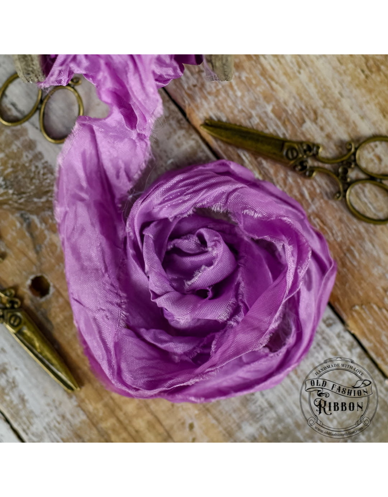 Old Fashion Ribbon Old Fashion Ribbon Satijn Peony OLDSB49