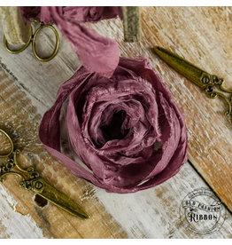 Old Fashion Ribbon Old Fashion Ribbon Satijn  Dirty Pink OLDSB30