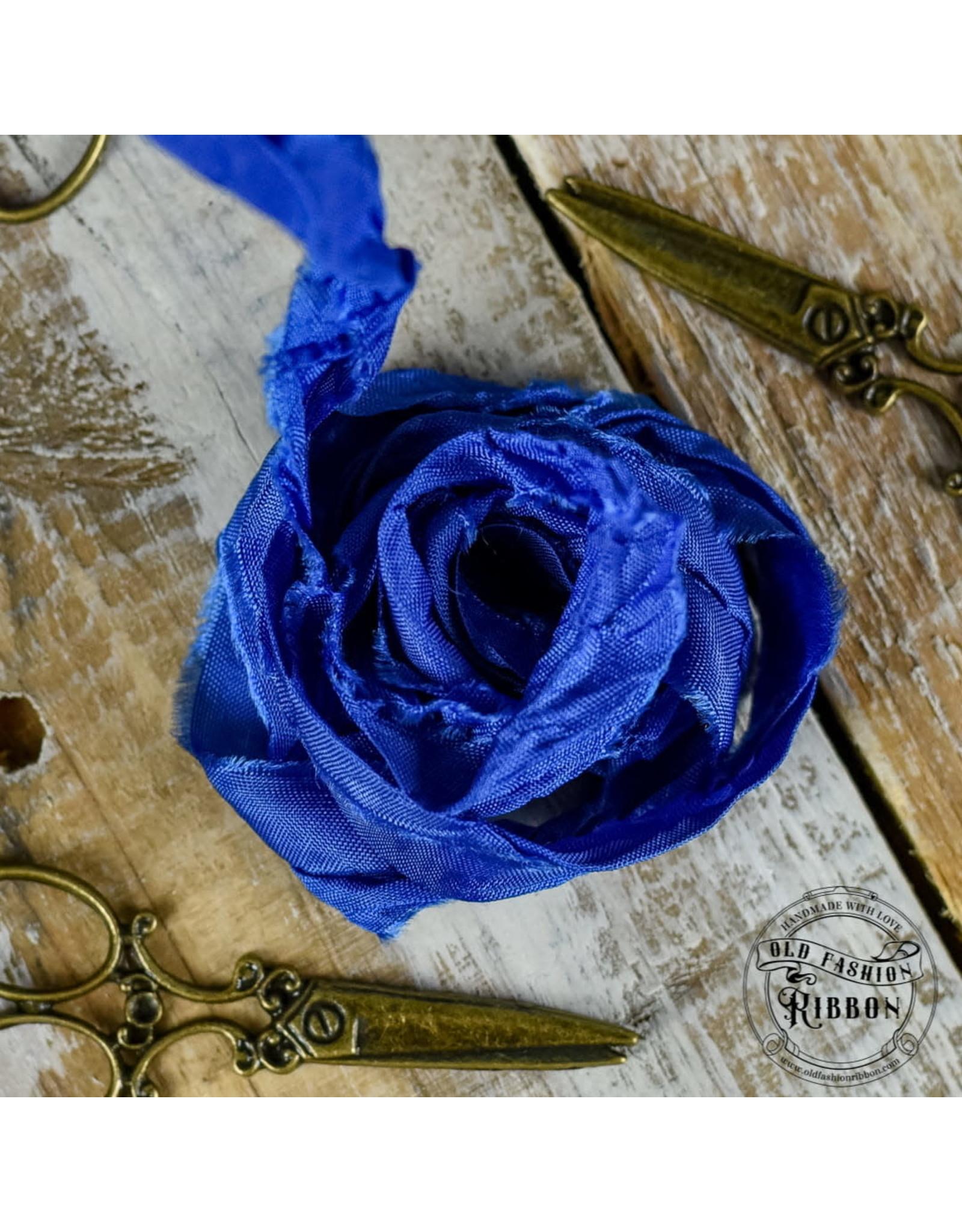 Old Fashion Ribbon Old Fashion Ribbon Satijn Ink Blue OLDSB50