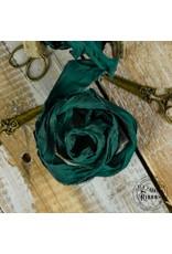 Old Fashion Ribbon Old Fashion Ribbon Satijn  Christmas Green OLDSB11