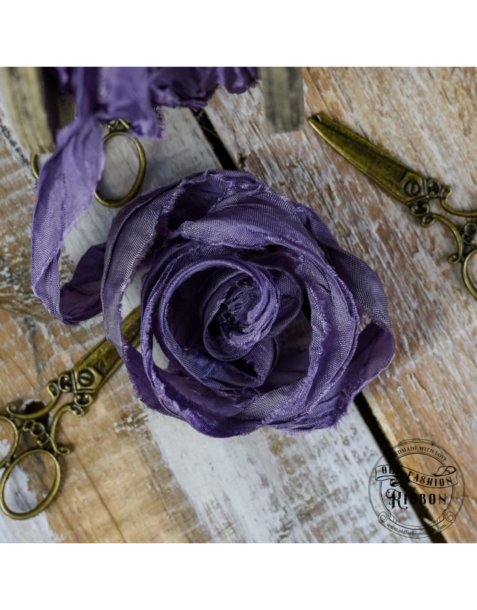 Old Fashion Ribbon Old Fashion Ribbon Satijn Alpine Violet OLDSB54