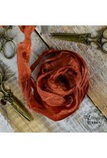 Old Fashion Ribbon Old Fashion Ribbon Satijn Copper OLDSB16