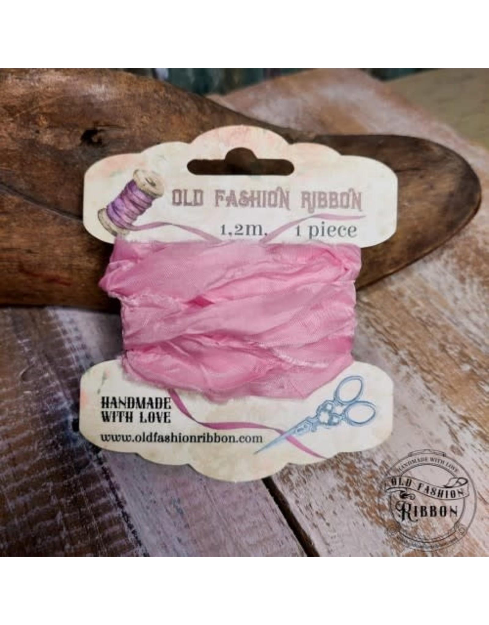 Old Fashion Ribbon Old Fashion Ribbon Satijn Candy Pink OLDSB