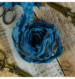 Old Fashion Ribbon Old Fashion Ribbon Satijn Turquoise OLDSB53