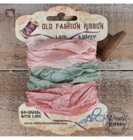 Old Fashion Ribbon Old Fashion Ribbon Satijn Pas 01 ( passend bij Passion van Stamperia)