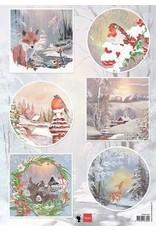 Marianne Design Marianne D Decoupage Winter wishes - Vos EWK1286 A4