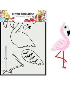 Dutch Doobadoo Dutch Doobadoo Dutch Card Art built up Flamingo A5 470.713.880
