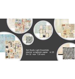 Studio Light Studio Light Planner Essentials papier 30.5 x 30.5  actieset