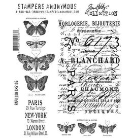 Stampers Anonymous Stampers Anonymous  Papillon CMS106