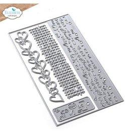 Elizabeth Craft Designs Elizabeth Craft Designs Planner Essentials 40 - Number Border & Patterns 1866