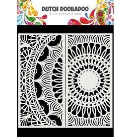 Dutch Doobadoo Dutch Doobadoo Dutch Mask Art Slimline Mandala 470.784.006 210x210mm