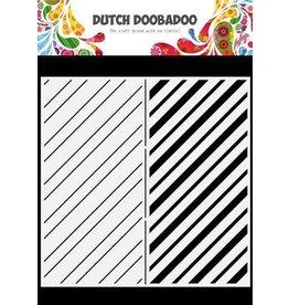Dutch Doobadoo Dutch Doobadoo Dutch Mask Art Slimline Stripes 470.784.010 210x210mm