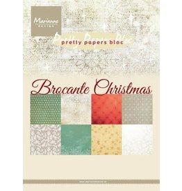 Marianne Design Marianne D Paperpad Brocante Christmas PK9171 A5 4x8 designs