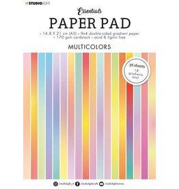 Studio Light Studio Light Paper pad Essentials Multicolors SL-ES-PP20 A5
