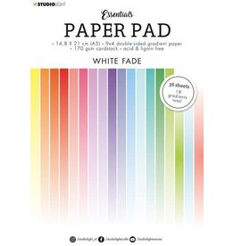 Studio Light Studio Light Paper pad Essentials White Fade SL-ES-PP21 A5