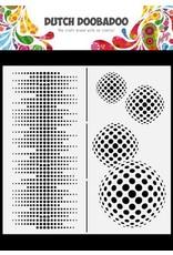 Dutch Doobadoo Dutch Doobadoo Dutch Mask Art Slimline Circles 470.784.009 210x210mm