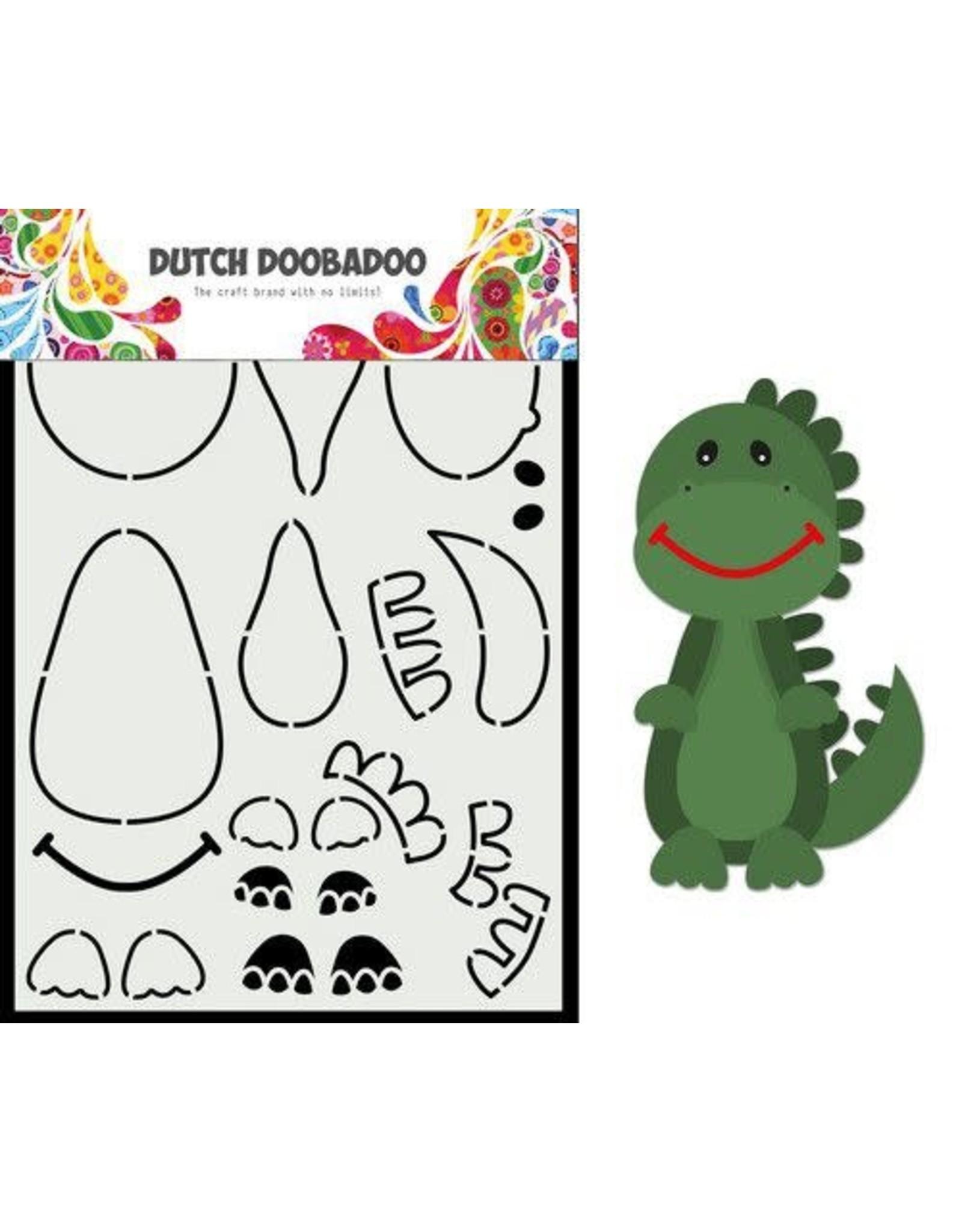 Dutch Doobadoo Dutch Doobadoo Card Art Built up Dino A5 470.784.014