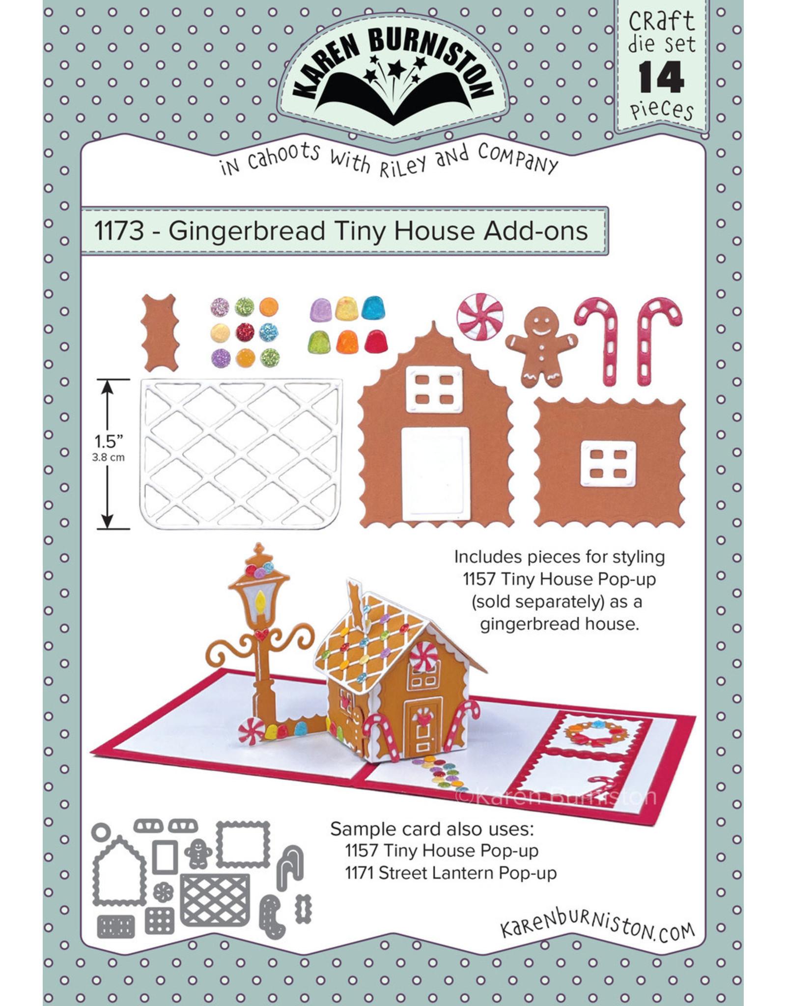 Karen Burniston Karen Burniston Gingerbread Tiny House Add - Ons 1173