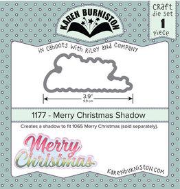 Karen Burniston Karen Burniston Merry Christmas Shadow 1177