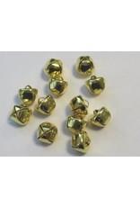 hobby crafting fun Kerst belletjes goudkleur 8 mm 16 ST 12239-3911