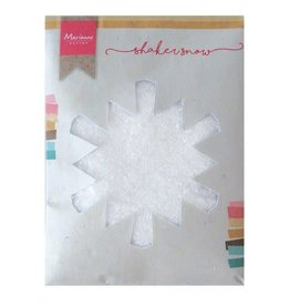 Marianne Design Marianne D Shaker fijne sneeuw met glitter - 50 gr LR0028 130x160x10 mm