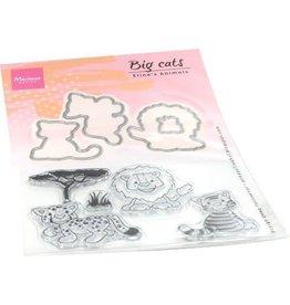 Marianne Design Marianne D Clear stamp Eline's Animals - grote katten EC0182 stamps dies
