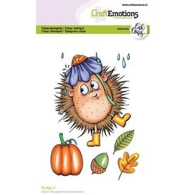 Craft Emotions CraftEmotions clearstamps A6 - Hedgy 3 Carla Creaties