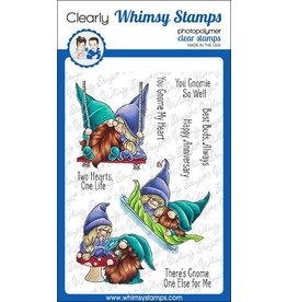 Whimsy Stamps Whimsy Stamps Gnome One Else Clear Stamps