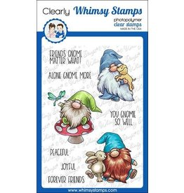Whimsy Stamps Whimsy Stamps Gnome Friends Clear Stamps