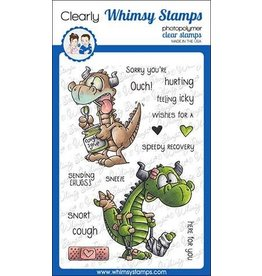 Whimsy Stamps Whimsy Stamps Get Well Dragons Clear Stamps