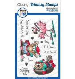 Whimsy Stamps Whimsy Stamps Winter Sports Clear Stamps