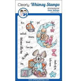 Whimsy Stamps Whimsy Stamps Bunny Babies Clear Stamps